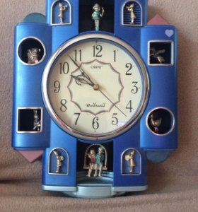 Часы настенные с музыкой