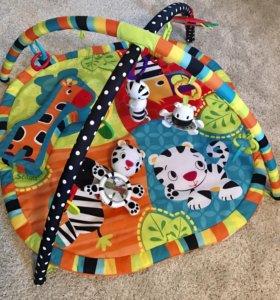 Развивающий коврик bright starts + подарок 🎁