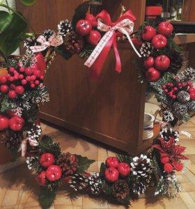 Рождественский веночек