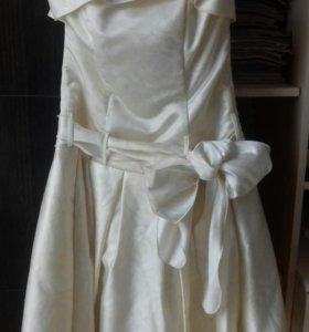 Карсетное платье