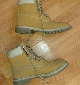 Стиль Timberland. Зимние ботинки.