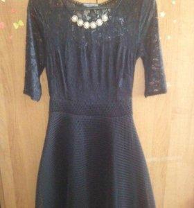 Платья женские (чёрное, синие)