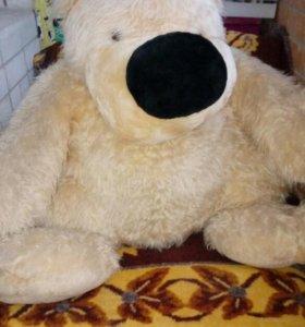Большая игрушка медведь