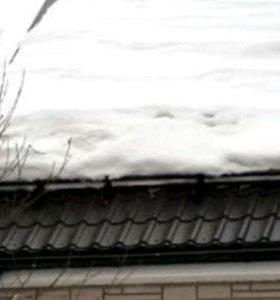 Установка снегозадержателя