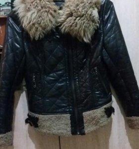 Куртка кожанная демисизонная