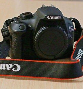 Фотоаппарат зеркальный Canon 1200D (тушка)