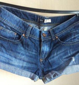 Шорты джинсовые 42-44