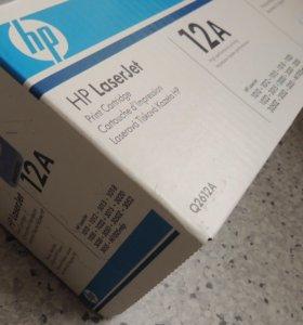 Картриджи HP Q2612A в заводской упаковке