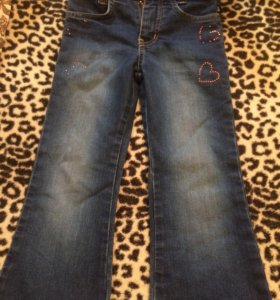джинсы 104
