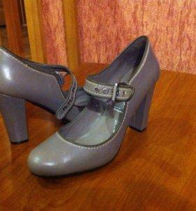 Туфли rockport кожаные 39 размер, новые