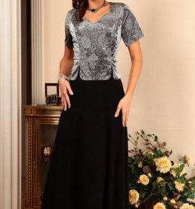 Новое вечернее платье,рр50