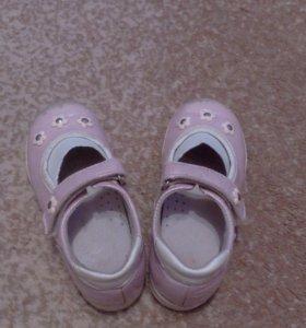 Туфли из нат.кожи