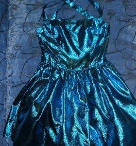 Очень нарядное платье!