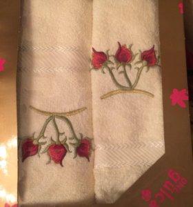 Набор полотенец 2 шт для лица и баное