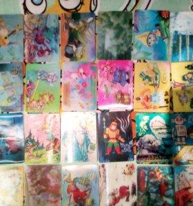 Коллекция календарей 80-90гг