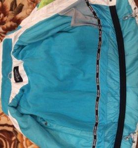 Куртка лыжная Glissade , зимняя , торг размер S-M