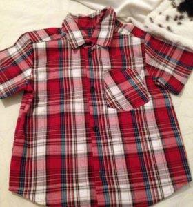 Новая рубашка р.92