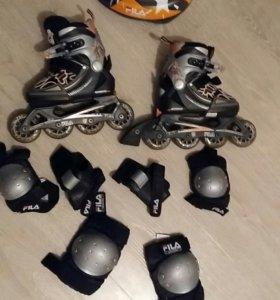 Роликовые и фигурные коньки
