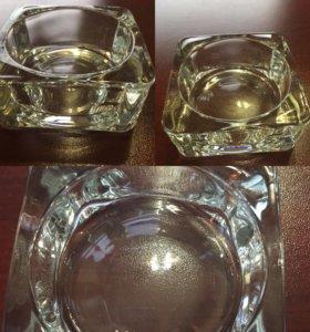 Кормушка для креветок (стекло d6см)