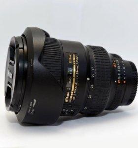 Объектив Nikon 17-35mm f/2.8D ED-IF
