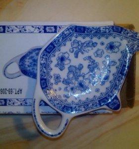 Тарелка для чайного пакетика