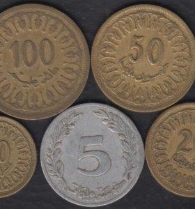 Тунис 5 монет