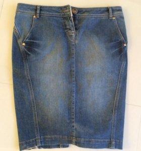 Юбка джинсовая marella