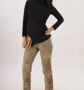 Стильные джинсики-стрейч для беременных