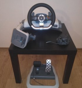 Руль Xbox 360 wireless racing Wheel