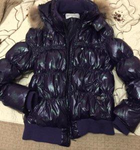 Теплая зимняя куртка sela