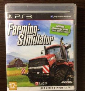 Диск Farming Simulatot на PS3