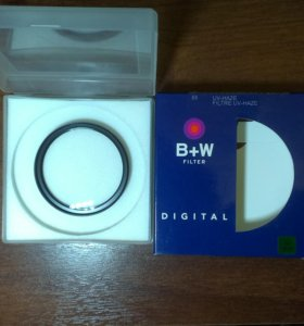 Фильтр ультрафиолет. 0003 B+W 55 мм