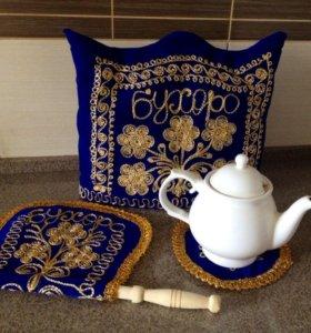 Шикарный набор для заваривания чая и украшения