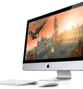 "Моноблок Apple IMac MC 813   27"" диагональ"