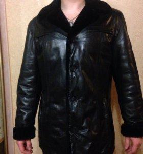 🔥Зимняя куртка кожаная🔥