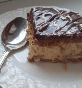 Вкусная домашняя выпечка, торты