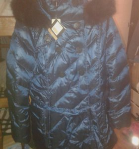 Куртка-пуховик женский р.48.