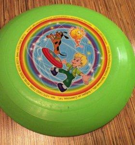 Летающая тарелка, игрушка для собак