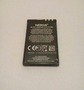 Аккумулятор Nokia bl-5ct оригинальный