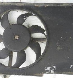 Вентилятор охлаждения chevrolet lacheti