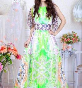 Новое шифоновое платье, рр46,48,50