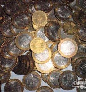 Монеты биметалл и гвс