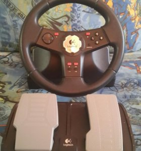 Руль Logitech vibration feedback wheel