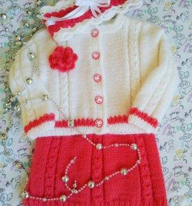 кофточки, платья, костюмчики для малышей
