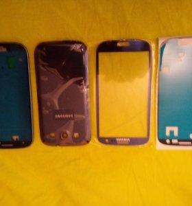 Samsung galaxy s3,l9300 стекло,корпус