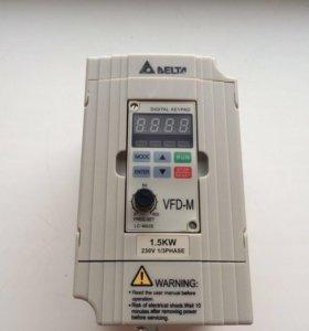 Частотный преобразователь DELTA VFD015M21A новый