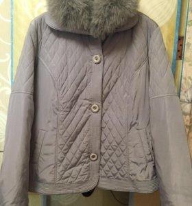 Куртка женская весна-осень. р-р 56