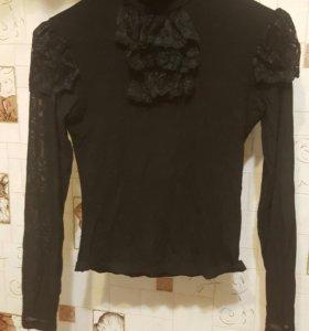 Водолазка блуза винтажная, 42 размер