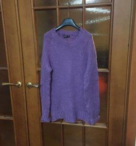 Свитер фиолетовый