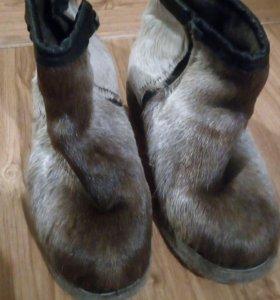 Ботинки унты